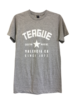 Front of Teague Varsity Star Logo Unisex Tee