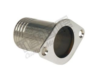 "Picture of Single Dump Flush Mount, SS, 3/4""FPT"