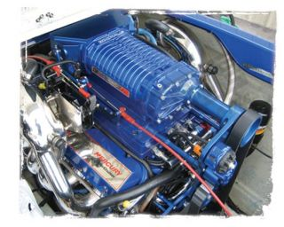 500HP EFI Stage 2  Blue 99-05