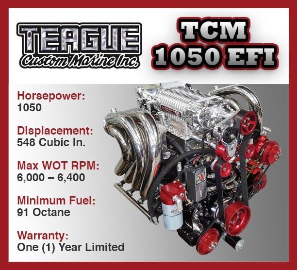 engine-1050-efi teague custom Marine