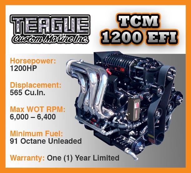 engine-1200-efi teague custom Marine