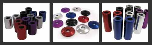 Billet Aluminum Spacers / Stringer Washers