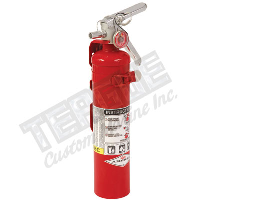 Red ABC Dry Chemical Fire Exting