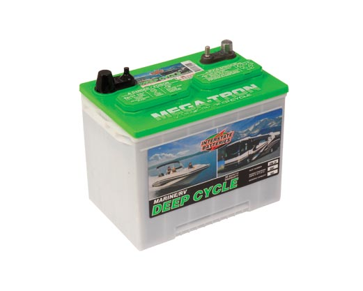 Interstate Deep Cycle Marine Battery >> Teague Custom Marine Interstate Deep Cycle Cranking Batteries