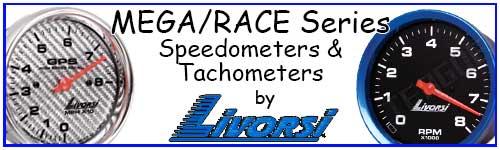 Mega/Race Series Speedometers & Tachometers