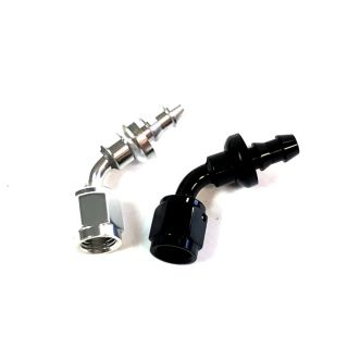 Picture of -04 AN 60d Aluminum PUSH LOCK HOSE END