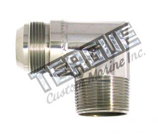 "Stainless Steel Elbo -20 X 1 1/4""npt 90"