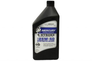 25w-50 4-Stroke Synthetic blend Engine oil 1qt. .946 liters