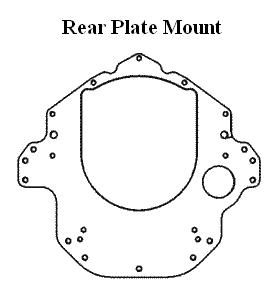 Offshore Engine Mount-Rear