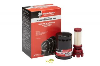 Mercury 100 Hour Maintenance Kit, L6 Verado S/N 2B144122 & Below
