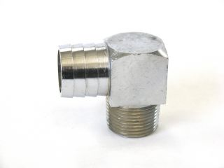 3/4 NPT MALE to 1  PUSH-ON 90° FITTING