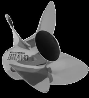 MERCURY BRAVO 1 FS 22P RH PROPELLER