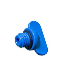 Drain Plug asy Blue with O-ring