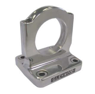 "2"" Polished Oil Cooler Bracket"