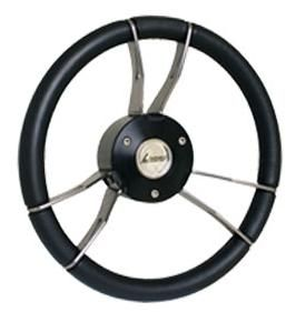 Picture of GUSSI STEERING WHEEL - BLACK