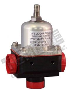 weldon fuel pump regulator