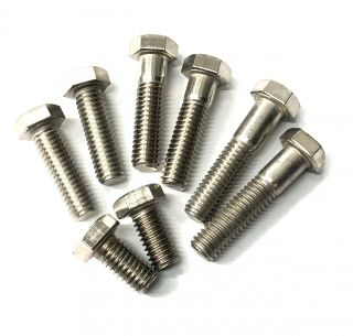 "3/8""-18 Hex Head Bolt - 1.00"""