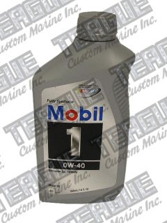 Mobil 1 0W-40 Motor Oil