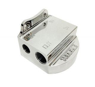 """TCM BILLET FST Fuel Filter Mount - 3/4"""" NPT - LEFT"""