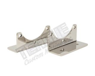 Stainless Steel Oil Cooler Brackets, Floor Mount