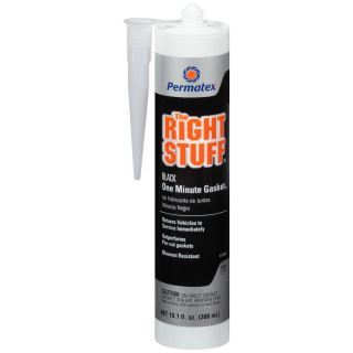 PERMATEX THE RIGHT STUFF SILICONE - 11OZ (BLACK)