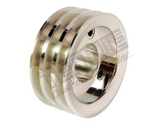Billet Triple Groove Crank Pulley - Nonsupercharged