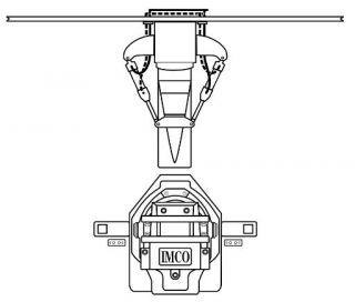 BRAVO SINGLE ENGINE DUAL RAM EXTENSION BOX OUTSIDE KIT