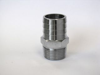 3/4 NPT MALE to 1  PUSH-ON STR FITTING
