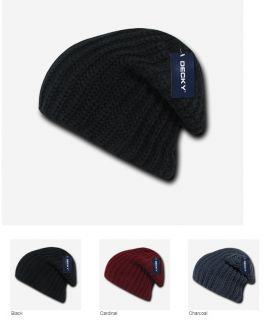 TEAGUE SLOUCHY KNIT BEANIE