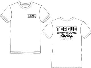 Teague Racing T-Shirt in White