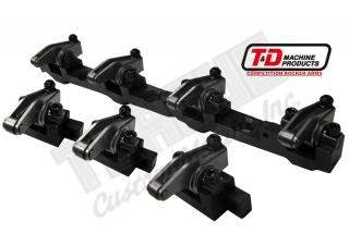 "T&D Shaft Mount Rocker Arms for ""V1"" AFR Heads - Aluminum Bodies"