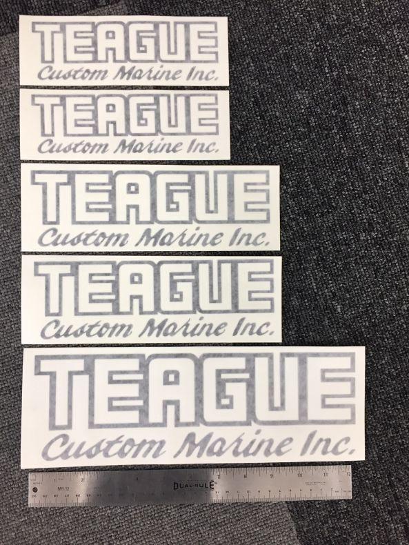 Teague Custom Marine Teague Floaty Key Chain