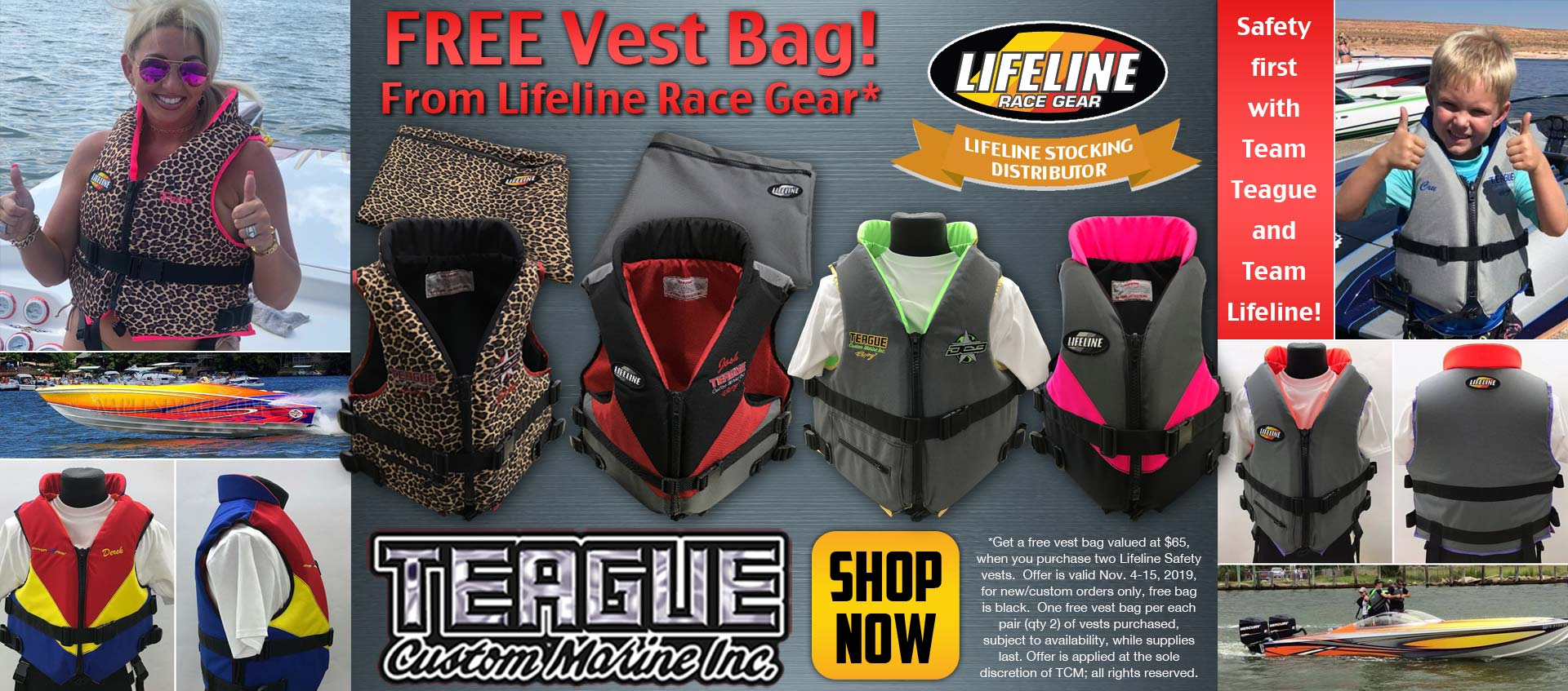 Image of our FREE Safety Vest Bag Giveaway, From Lifeline racegear