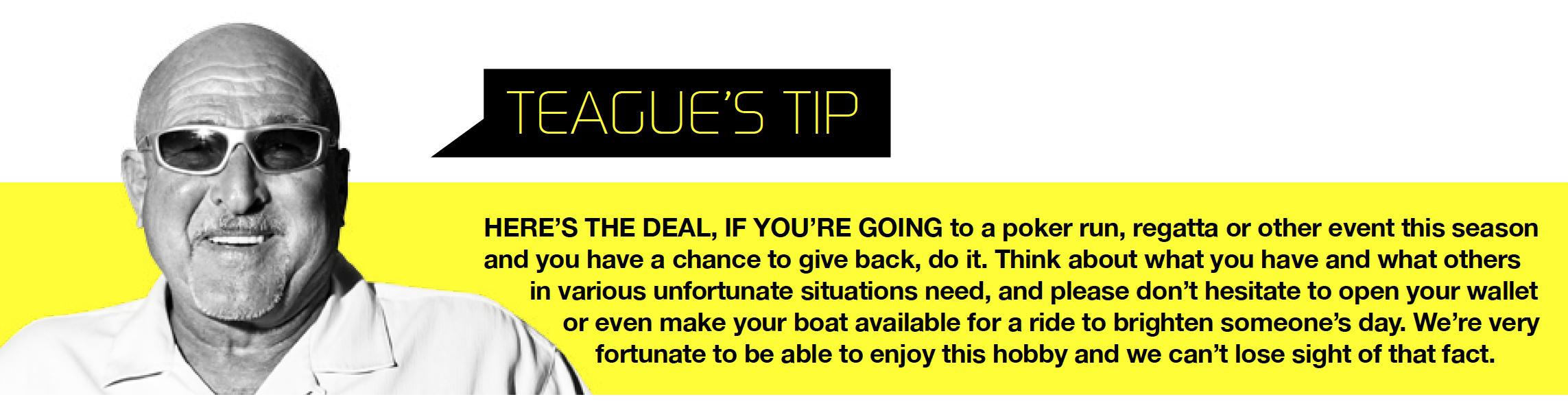 Teague's Tip
