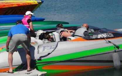 Teague on Boats