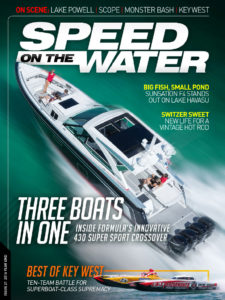 As Seen In Speed On The Water, Issue 21; Year End 2016