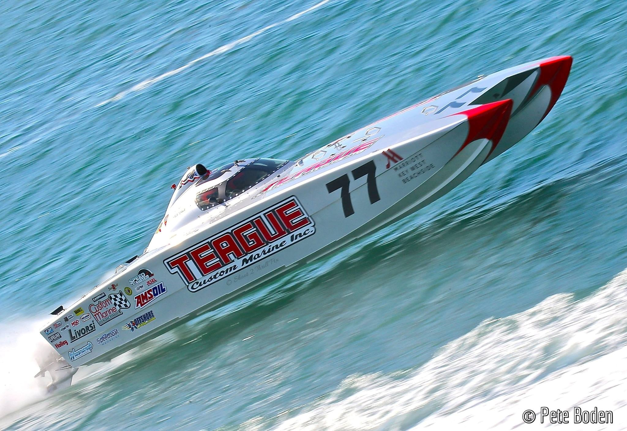 Veteran offshore racer and engine builder Bob Teague is the high-performance marine world's ultimate answer man. Photo courtesy/copyright Pete Boden/Shoot 2 Thrill Pix.