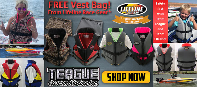 Free Vest Bag From Lifeline Race Gear! Shop Now!