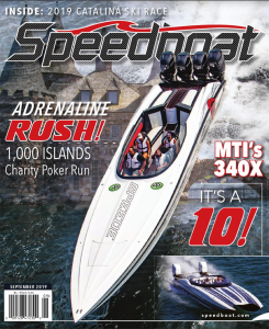 Speedboat Magazine Cover