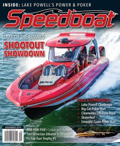 Speedbaot Magazine Cover Art