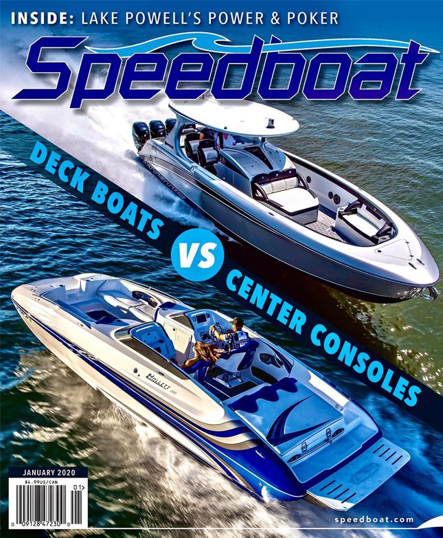 Speedbaot Magazine Cover Art