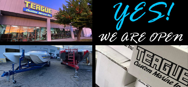 Yes We Are Open!