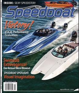 Speedboat Magazine Cover for July/August